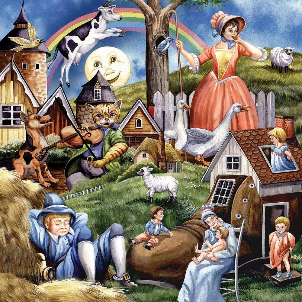 The Jigsaw Puzzle Factory Nursery Rhymes Jigsaw Puzzle