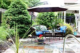 Garden Treasure Patio Furniture by Golden Boys And Me Our Pool And Patio