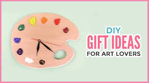 Video Creative DIY Gift Ideas For Art Lovers