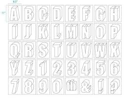 How To Draw 3D Block Letters Step By Step