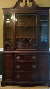 Was Wanting To Find Out More Info About An Antique China Cabinet