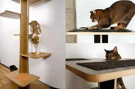 modern cat tower spoil your lovely cats with contemporary cat furniture homesfeed