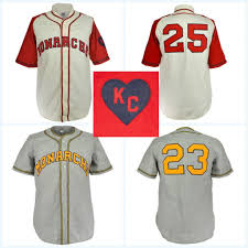 100 Kansas City Shipping Monarchs 1942 Home Jersey Movie Baseball Jersey 100 Stitched Name Number Logos For Men Women Youth Mix Order Free