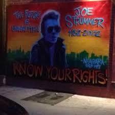 Joe Strummer Mural East Village by Joe Strummer Mural Outside The Niagara Bar Formerly The A 7 East