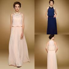 vestido longo 2015 blue pink long chiffon evening gown plus size