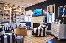 Nautical Themed Living Room Furniture by Nautical Theme Living Room Nautical Decor Preppy Beach House Navy