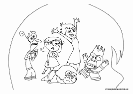 Inside Out 28 Animation Movies Printable Coloring Pages