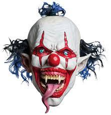Funny Halloween Half Masks by Mem37114 Snake Tongue Evil Clown Mask Jpg Don U0027t You Think