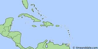 Location Of British West Indies