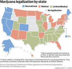 states pot is voters say yes to marijuana in eight states
