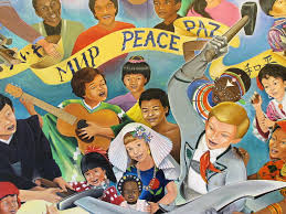 Denver International Airport Murals Pictures by The Children Of The World Dream Of Peace Denver International