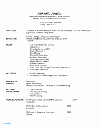 Orthodontist Resume Examples Dental Assistant Resume Samples ... Entry Level Dental Assistant Resume Fresh 52 New Release Pics Of How To Become A 10 Dental Assisting Resume Samples Proposal 7 Objective Statement Business Assistant Sample Complete Guide 20 Examples By Real People Rumes Skills Registered Skills For Sample Examples Template