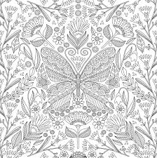 Amazon Blooms Birds And Butterflies Adult Coloring Book 31 Stress