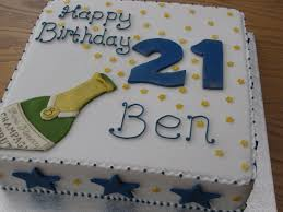 21st Birthday Sheet Cake Ideas