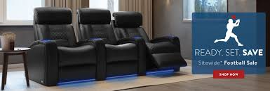 Movie Theatre With Reclining Chairs Nyc by Home Theater Cadillac Theater Seating Theater Seating Furniture