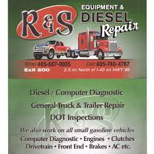 100 Truck Repair Shops Near Me RS Equipment And Diesel 8835 S Hwy 99 Prague OK Auto Body