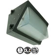400w equal led wall pack 120w 13312 lumen 5000k dlc listed