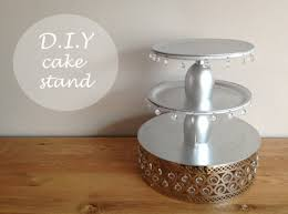 D I Y Wedding or Engagement Cake Stand
