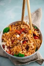 mediterraner nudelsalat das titelrezept aus nudelsalate