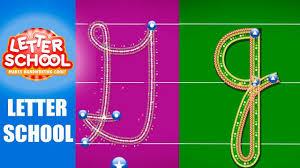 Сursive Alphabet Abcya Uppercse And Lowercase Letter School
