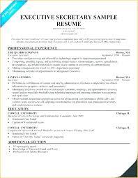 Resume Template Executive Assistant Administrative Word Templates Australia