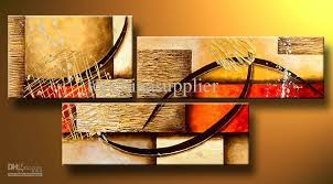 2018 Art Modern Abstract Oil Painting Multiple Piece Canvas