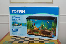 product review topfin 10 gallon led starter kit a s adventures