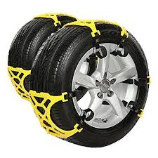 Amazon.com: Rupse 8-Piece Snow Tire Anti-slip Chains For Vehicles ...