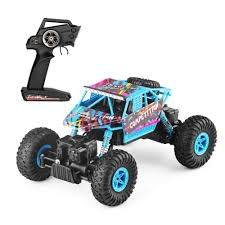 100 Monster Truck Remote Control Geekper RC Car Off Road Car RTR RC Buggy 118 4WD 24Ghz High Speed RC S With 1 Rechargeable Battery