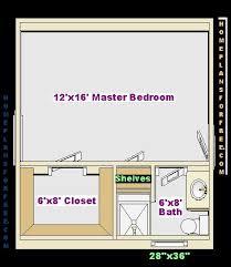 Parent Directory Master 12x16 Bedroom 6x8 Bath BJPG