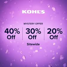Offers.com - Kohl's Mystery Offer Is Back! Try Your Luck...   Facebook Kohls 30 Off Coupons 1800kohlscoupon Twitter Coupon 15 Your Store Purchase Printable 2018 Justice Coupons Code Possible Up To 40 Code Stackable Codes 50 Mystery Mvc Free Shipping August 2019 For Black Friday Ads Deals And Sales Couponshy To Entire Today Only Check Hip2save 1520 Off At Or Online Via Promo Supsaver