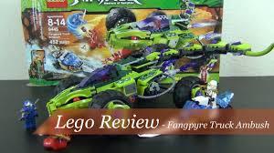 100 Fangpyre Truck Ambush Lego Review Lego Ninjago Set 9445 YouTube