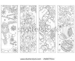 Christmas Bookmarks Stock Images Royalty Free