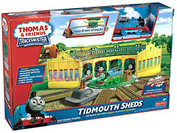 Trackmaster Tidmouth Sheds Youtube by 28 Tidmouth Sheds Trackmaster Nz Tootally Thomas Tidmouth
