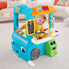 Fisher Price Laugh & Learn Servin Up Fun Food Truck | EBay