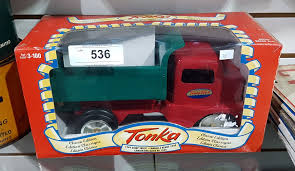 REPRODUCTION METAL TONKA TRUCK IN BOX