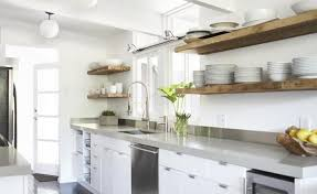 Reclaimed Wood Ideas Floating Shelves Kitchen
