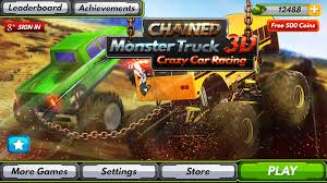 Chained Monster Truck 3D Crazy Car Racing - Android Apps On Google ... Car Racing Games Offroad Monster Truck Drive 3d Gameplay Transform Race Atv Bike Jeep Android Apps Rig Trucks 4x4 Review Destruction Enemy Slime Soccer 3d Super 2d On Google Play For Kids 2 Free Online Mountain Heavy Vehicle Driving And Hero By Kaufcom Wheels Kings Of Crash