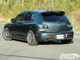 2008 Mazda Mazdaspeed3 e At Me Bro Super Street Magazine