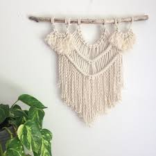 Driftwood Christmas Trees For Sale by Macrame Kit Wall Hanging Diy Driftwood Cotton