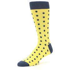 yellow polka dots men u0027s dress socks u2013 boldsocks