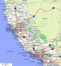 California Map Pdf Road Large World Printable Of
