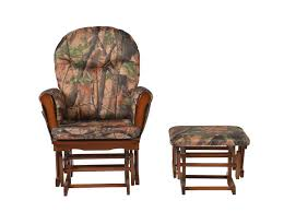 Artiva USA Wood Rocking Chair With Camo Cushion Glider And Ottoman, Cherry Best Glider And Ottoman Fix Up Your Nursery Tiny Fry Storkcraft Avalon Upholstered Swivel Bowback Cherry Finish Cheap Rocking Chair And Find Recling Rocker Set Cherrybeige Baby With Pink Shop Tuscany With Reversible Cushions Incredible Winter Deals On