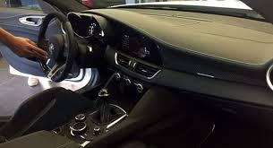 Someone Opened Up Alfa s Giulia And Took A Shot The Interior