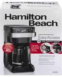 Hamilton Beach 12 Cup Programmable Coffee Maker Model 46300