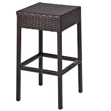 Napa Pub Table Set With Backless Barstools 5 Piece Outdoor Wicker