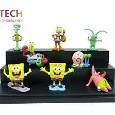 Spongebob Aquarium Decor Set by Aquarium Decoration Spongebob 8pcs Set Aquarium Fish Tank