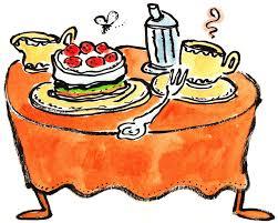 ari plikat illustration kaffee und kuchen
