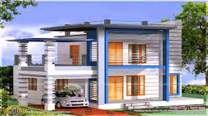 100 Indian Modern House Design Plans Double Floor