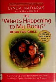 The Whats Happening To My Body Book For Girls